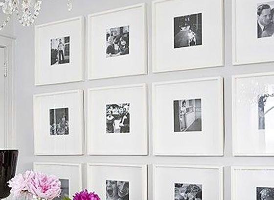M blog living foto di famiglia for Cornice bianca foto