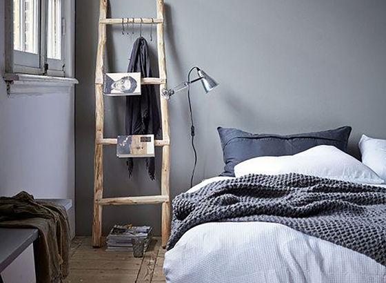 Idee per la camera da letto made in bettina nagel for Letto appeso al muro