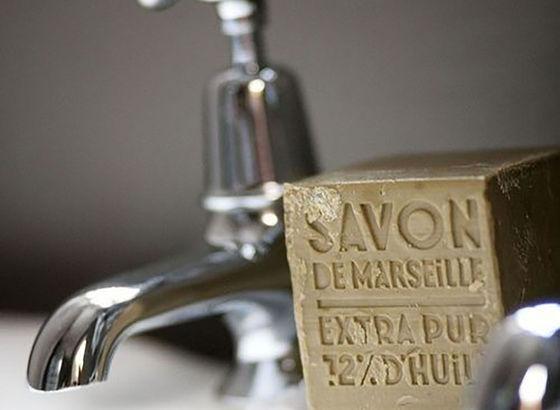 reaktion seife mit wasser