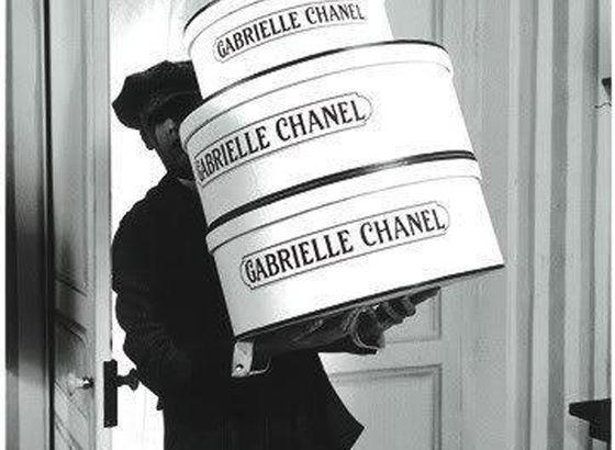 Il mio sogno, scatole per cappelliere di Coco Chanel