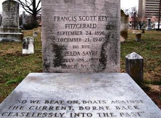 Tomba di Zelda e Francis Scott Fitzgerald