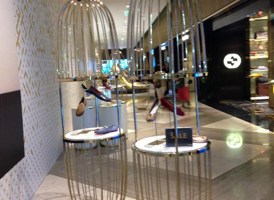 Esposizione di scarpe Dubai Mall