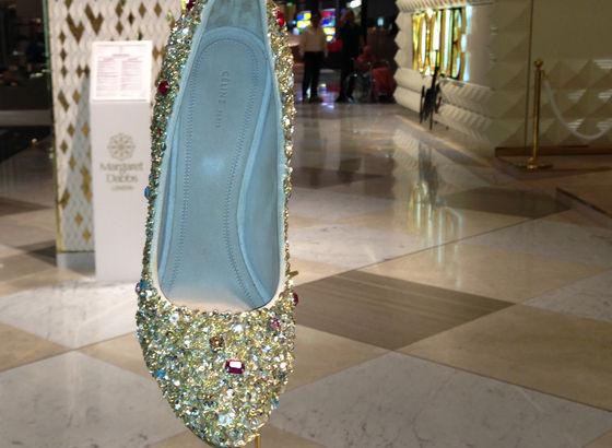 Tipiche scarpe amate dalle donne arabe