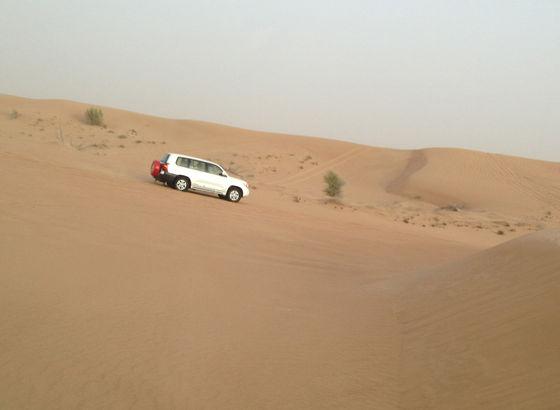 Safari nel deserto vicino Dubai