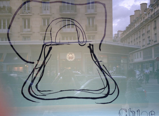 Uno dei sogni di noi donne - borse (vetrine)
