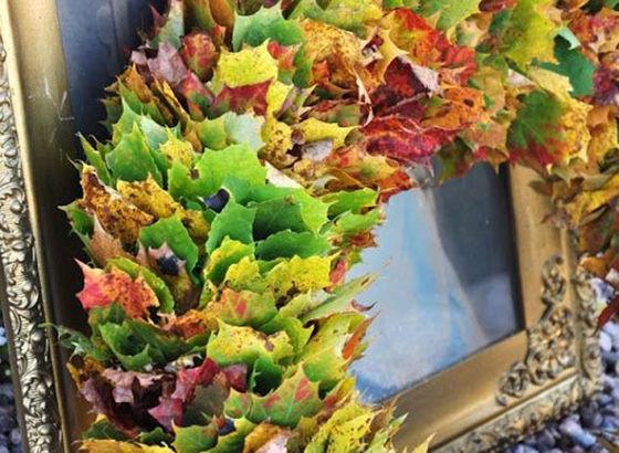 Ghirlanda d'autunno