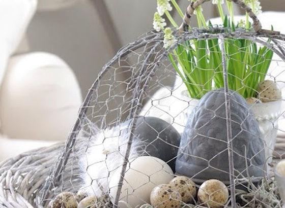 Centrotavola di uova