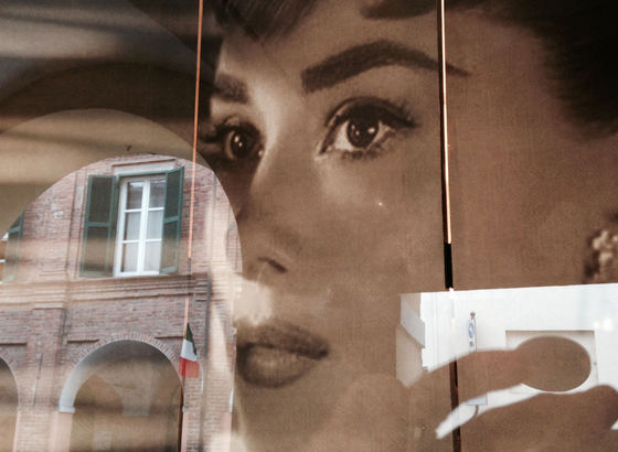 Audrey Hepburn meets Barbero