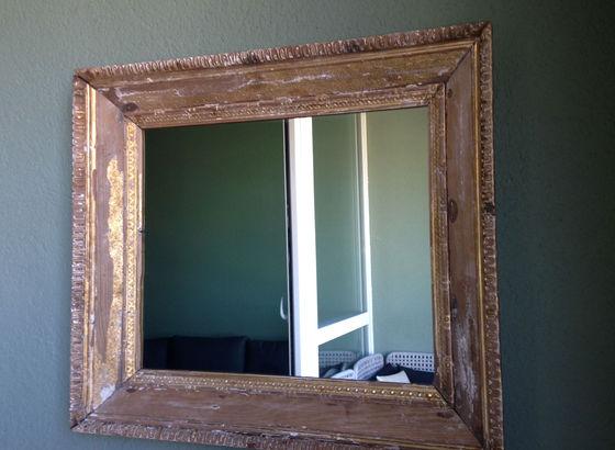 Specchio sul terrazzo