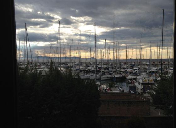 Vista sul porto di Punta Ala
