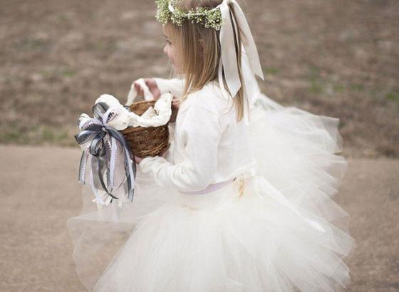 Bambina dei fiori