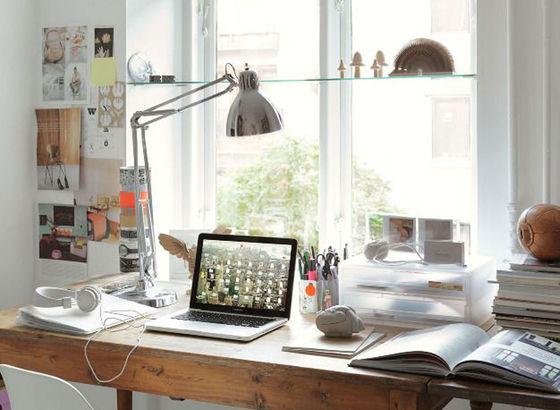 Homeoffice - Mein Schreibtisch befindet sich bei mir zu Hause Made ...